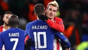 Koke, sául, ángel corea, thomas lemar; Chelsea Fc Vs Atletico Madrid