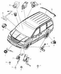 56054183aa genuine mopar sensor acceleration rh moparpartsgiant 2010 dodge caravan parts diagram 2014 dodge grand caravan parts diagram