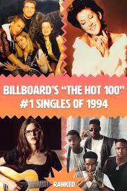 This list has also been compared to the results for north america and europe.there is also a set of monthly tables showing the various number ones on any date during. Billboard Hot 100 Top 1 Singles Of 1994 Ranked Retropond