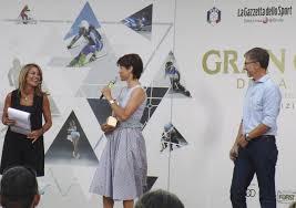 Marcellino Radogna - Fotonotizie per la stampa: Cristina Fantoni con Isolde  Kostner e Valeri oGiacobbi