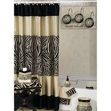 Zebra Bathroom Rug Safari Shower Curtain Sets Free Image