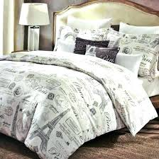theme bedding design themed duvet covers set full target single cover cotton paris inspired bedrooms them