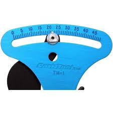 Park Tension Meter Chart Park Tool Tm 1 Spoke Tension Meter