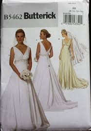 Butterick Plus Size Patterns Impressive Plus Size Wedding Dress Pattern Butterick Sewing Pattern B48