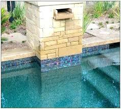 pool waterline tile ideas tiles water line iridescent glass home design pool waterline tile
