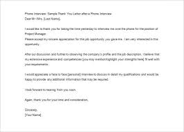 Letter Of Competency Template Thank You Letter After Job Interview