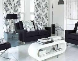 Modern Black And White Living Room Black And White Living Room Interior Design House Decor