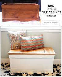 file cabinet bench.  Cabinet File Cabinet Bench March 27 2014 Emily HEADER To Bench