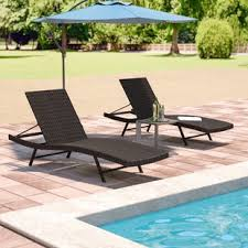 swimming pool lounge chair. Varley Chaise Lounge (Set Of 2) Swimming Pool Chair N