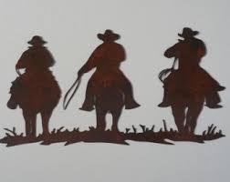 3 cowboys metal art cowboy metal art cowboy wall hangings western wall hangings on cowboy metal wall art with tree metal art tree wall decor home decor with trees tree