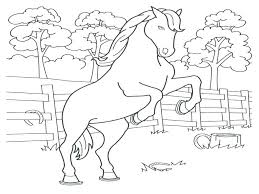 Printable Coloring Pages Of Horses Horse Printable Coloring Pages