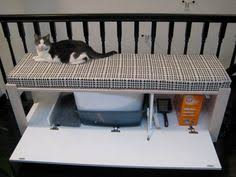 diy litter box bench would love to make something like this cat lovers 27 diy solutions