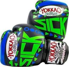 Blue Green Online Yokkao Sick Muay Thai Boxing Gloves Blue Green Xl Uk Price In Dubai Uae Compare Prices