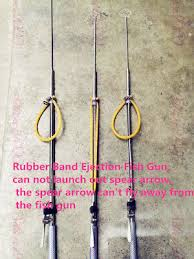 <b>1Pcs 304 Stainless Steel</b> Rubber Band Ejection Fish Gun Diving Guns