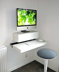 desk for small office space. Small Home Computer Desk Office Space With Modern Designs White Stuck On The Wall Cheap Depot For O