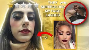 i went to the worst reviewed makeup artist in my city stormie