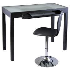 minimalist metal black desk chair