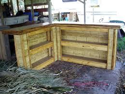 build a patio bar. Tiki Patio Bar Build Outdoor Shaped Small Flattened Bamboo Board A
