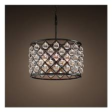 rh spencer round chandelier loading zoom