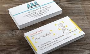 Double Sided Business Cards Groupon Goods