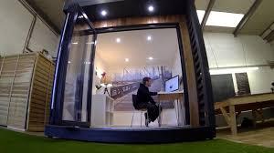 office pod. Quebec Garden Office Pod - Roseberry Cabins