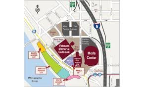 Moda Center Theater Of The Clouds Seating Chart Tickets East West Garage Parking For Cirque Musica
