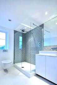 beveled subway tile shower subway tile bathroom shower subway tile bathroom gray subway tile bathroom contemporary with grey metro glass shower beveled