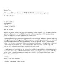 Example Of Cover Letter For Retail Job Retail Associate Cover Letter Example Sales Job Cover Letter