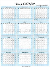 Week Number Calendar 2019 Calendar With Week Numbers Calendar With Week Numbers