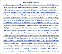act essay examples how to improve your act writing score writing sample 1 page 1