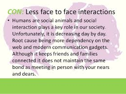 social interaction impact of technology 5