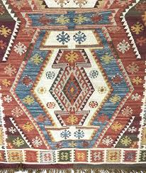 details about new pottery barn gianna recycled yarn kilim indoor outdoor rug 5x8