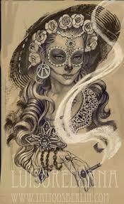day of the <b>dead girl</b> tattoo by mojoncio.deviantart.com on ...