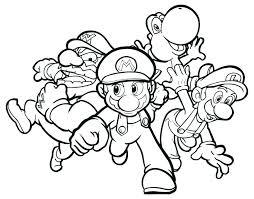 Mario Luigi Coloring Pages Last Updated Mario Luigi And Yoshi