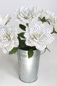Paper Flower Lyrics Personalised Paper Rose Paper Roses Pinterest Paper Roses
