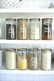 Decorative Glass Jars For Kitchen Canisters Kitchen Contemporary Kitchen Storage Jars Kitchen 32