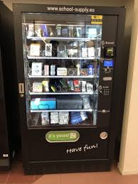 Vending Machines That Sell School Supplies Delectable School Supply Vending Machine At My University Mildlyinteresting