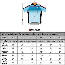 Paladin Cycling Jersey Size Chart Paladin Short Sleeves Men Funny Cycling Jersey Tiger Biking