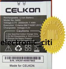 Replacement Battery For Celkon Q455 ...