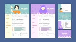 Graphic Design Resume Template Beauteous Graphic Designer Resume Template Vector Download Free Vector Art