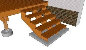 Jetzt die perfekte treppe finden und den passenden eine sehr interessante treppenvariante ist die kombination zwischen holz und stahl im treppenbau. Gartentreppe Holz Bauen Plan Fuenf Stufen Gartentreppe Holztreppe Selber Bauen Treppe Selber Bauen