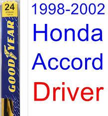 Wiper Blade Size Chart Honda Amazon Com 1998 2002 Honda Accord Wiper Blade Passenger