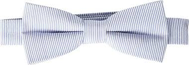 Appaman Kids Mens Bow Tie Blue Bengal Stripe One Size At