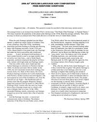 lang sample essays ap lang sample essays