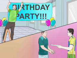 International Party Decorations How To Have A Great Party With Pictures Wikihow