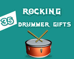 35 rocking drummer gifts