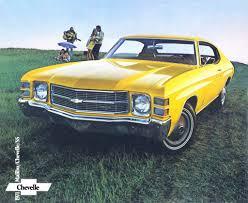 Chevrolet Chevelle Car Brochures