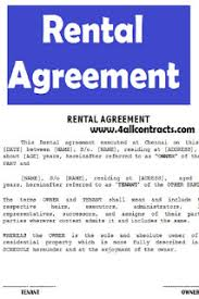 A rental agreement is extremely important for any landlord wanting to rent their property. House Rental Agreement Word Doc Sample Contracts