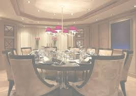 dining room a luxurious round dining room decorating ideas in a with chandelier restaurant