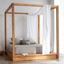 Wood Canopy Bed Drapes : Sourcelysis - Perfect Style Canopy Bed Drapes